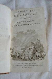 1796 Christelijke Gezangen Voor de openbaare godsdienstoefeningen 165 gezangen