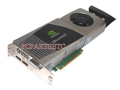 Nvidia Quadro FX4800 GDDR3 1.5GB PCIE Video Card 01G28H lot of two