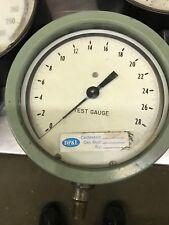 Vintage Ashcroft Bronze Tube Brass Socket 0 60 Test Gauge