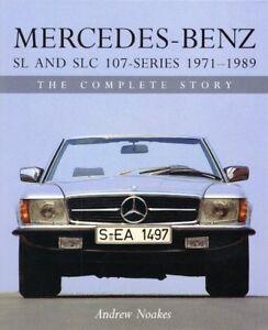 Mercedes-Benz-SL-SLC-R-C-107-1971-89-R107-C107-280-300-350-450-500-Buch-book