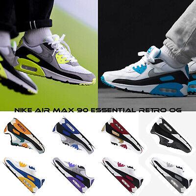 Nike Air Max 90 Essential Retro OG Original Colorway Men Running Casual Pick 1 | eBay