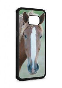 Samsung-Galaxy-Pferd-Horse-SILIKON-Flipcase-Tasche-Huelle-Case-Cover-Schutz-Handy