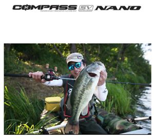 BANAX) cost-effectiveness bass rod Compass sv nano 2 piece for spining reel