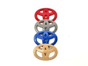 Toyota Steering Wheel Emblem Overlays for Tundra Tacoma Rav-4 and 4-Runner