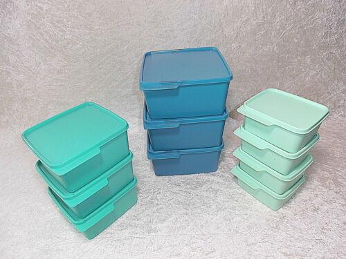 TUPPERWARE Frische Ecke Set 3x2,5l 4x0,5ltr Frischemeister Behälter 3x1,2l
