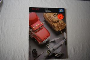 Italeri-Modell-Bausaetze-Katalog-1995-Modellbau