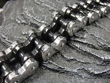 200 gram HEAVY Classic Dual Rolo Chain Bracelet for Harley Davidson Biker TB90