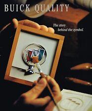 1994 Buick QUALITY Brochure:PARK AVENUE,ROADMASTER,LeSABRE,REGAL,CENTURY,SKYLARK