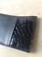 Porte-cartes-cuir-noir-croco-vernis miniature 2