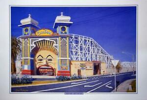 Historical Luna Park St Kilda Print