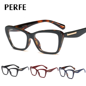 Women-039-s-Retro-Optical-Glasses-Cats-Eye-Clear-Lens-Myopia-Glasses-Frames-New