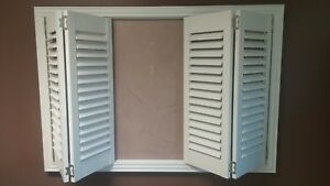 Custom Fauxwood Plantation Shutters Bermuda Window