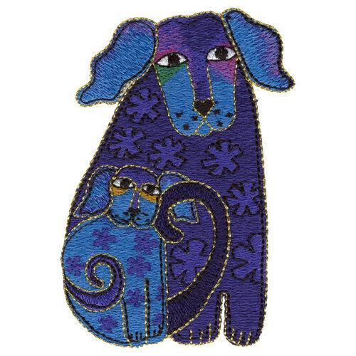 Lot 12-Laurel Burch Dogs Doggies Jungle Songs Ocean Songs Holiday Spirits