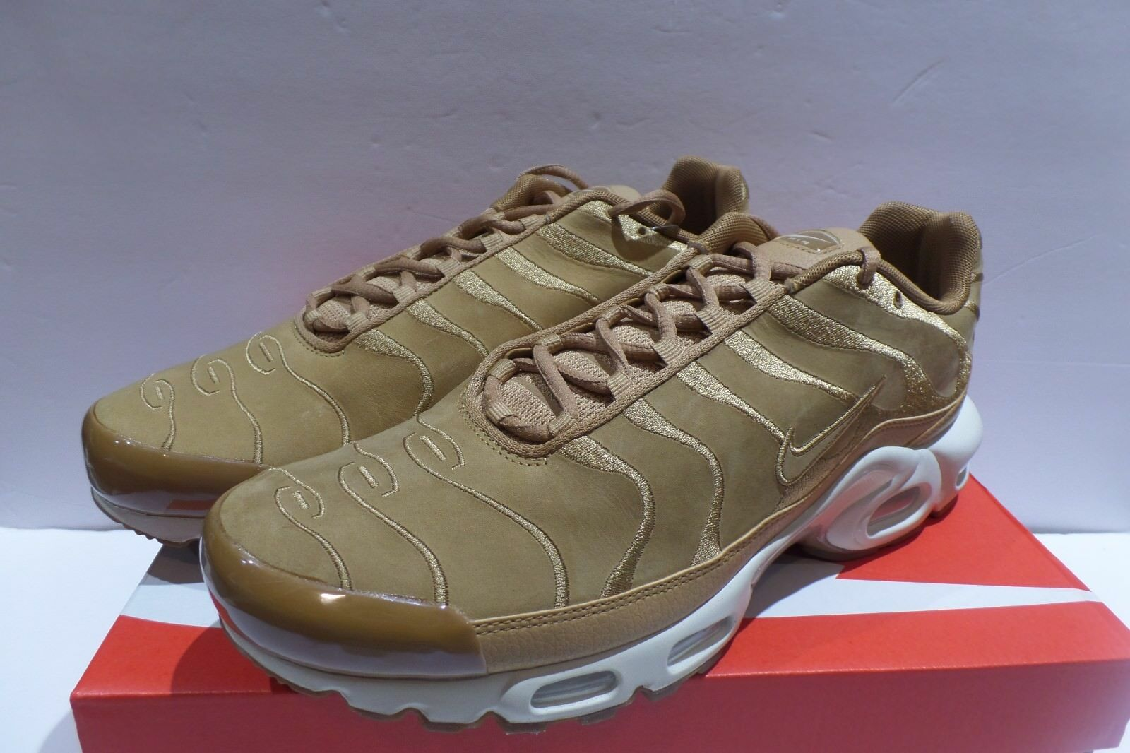 Nike air max e tn sintonizzati 1 e lino scamosciato Uomo sz 11,5 ah9697-201
