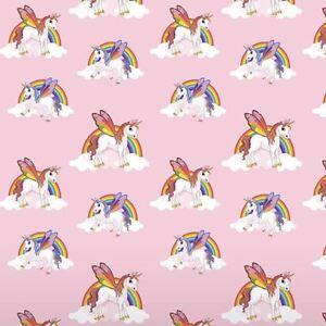 rainbow licornes papier peint enfants chambre a coucher