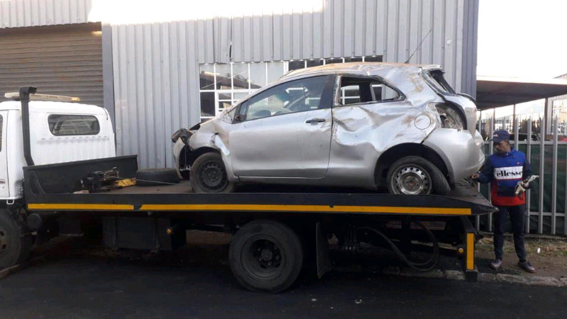 Toyota Yaris 1.3 1KR stripping for spares