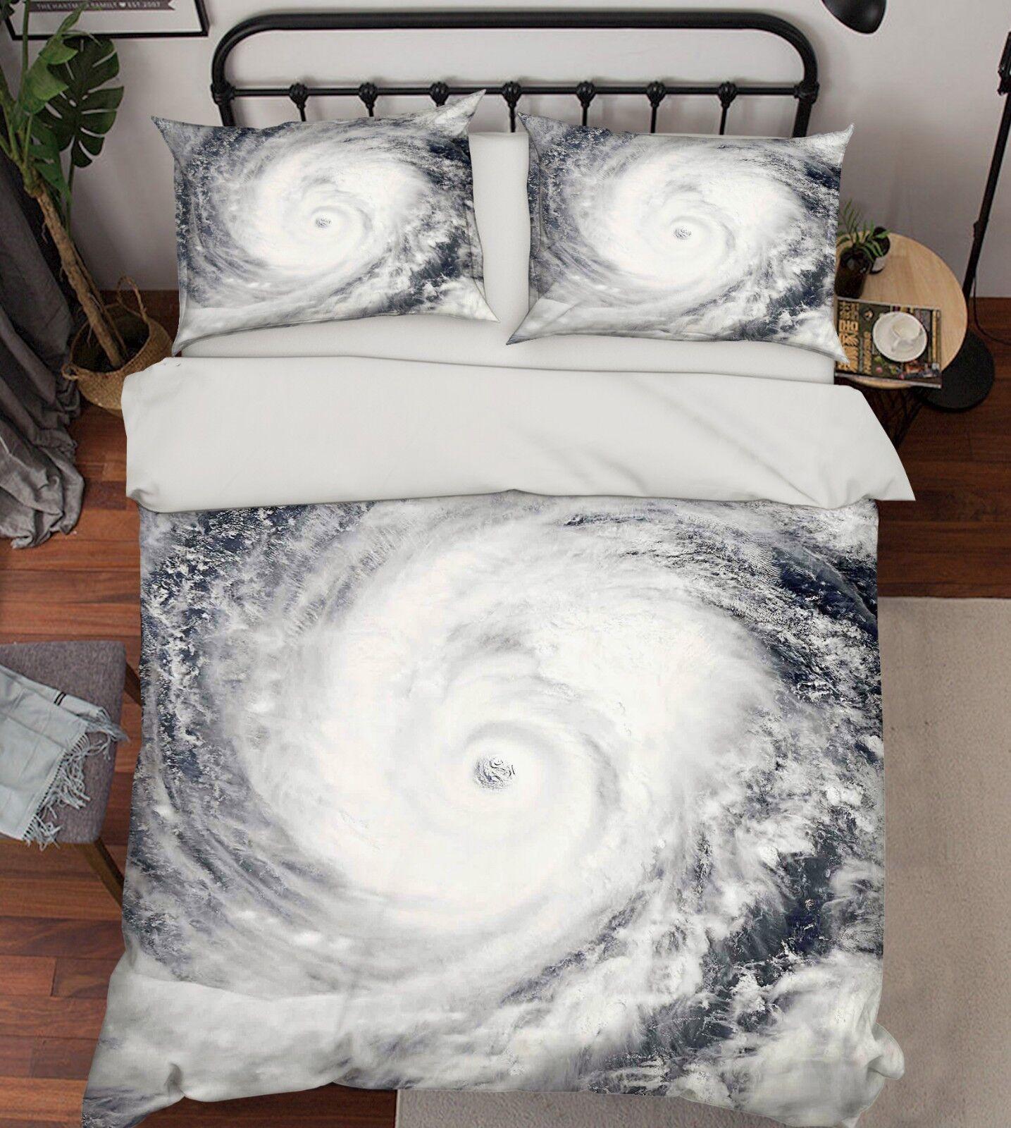 3D Sea Vortex 790 Bed Pillowcases Quilt Duvet Cover Set Single Queen King CA