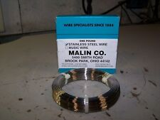 New Malin Co One Pound Stainless Steel Wire 022 Diameter Model 28026