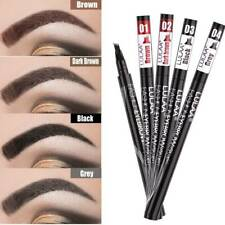 Tattoo Brow Microblading Pen Four Eyebrow Tattoo Pen Waterproof Fork Tip Sketch