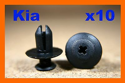 For Ford 10 body skirt trim panel bump cover guard fastener screw pin clips