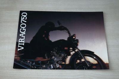 Anleitungen & Handbücher Prospekte Yamaha Xv 750 J Virago Prospekt 198? Sweet-Tempered 194355