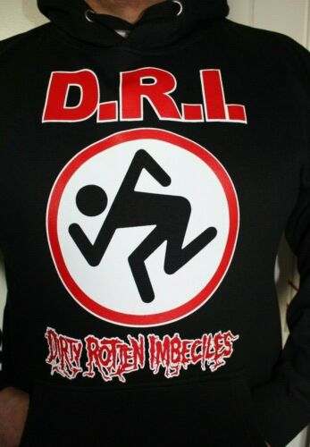 D.R.I HOODED SWEATER