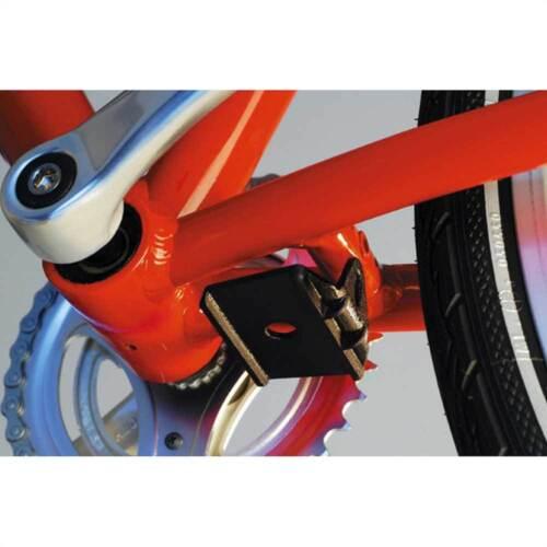 Hebie Adapterplatte f Radsport Fahrradständer & Aufbewahrung Zweitmontage Seitenständer+Zweibeinständer Fahrradständer