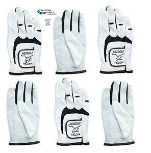 6-PACK-MEN-039-S-ALL-CABRETTA-LEATHER-GOLF-RIGHT-HAND-GLOVES-FOR-LEFT-HANDED-GOLFERS
