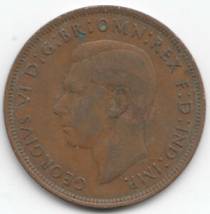 1937 To 1951 George VI Penny/Pennies Choix de l'année/date
