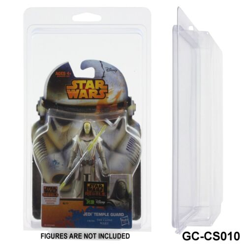 JUMBO Clamshell Action Figure Protective Cases,Star Wars,Jedi Temple Guard,Rebel