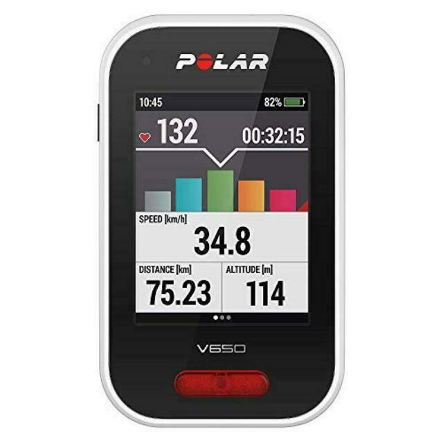 BIKE COMPUTER CON GPS INTEGRATO ! NOVITA/' ASSOLUTA ! POLAR V650 NO FASCIA