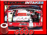 Red 90 91 92 93 Chevy Lumina/oldsmobile Cutlass Supreme 3.4l V6 Z34 Air Intake
