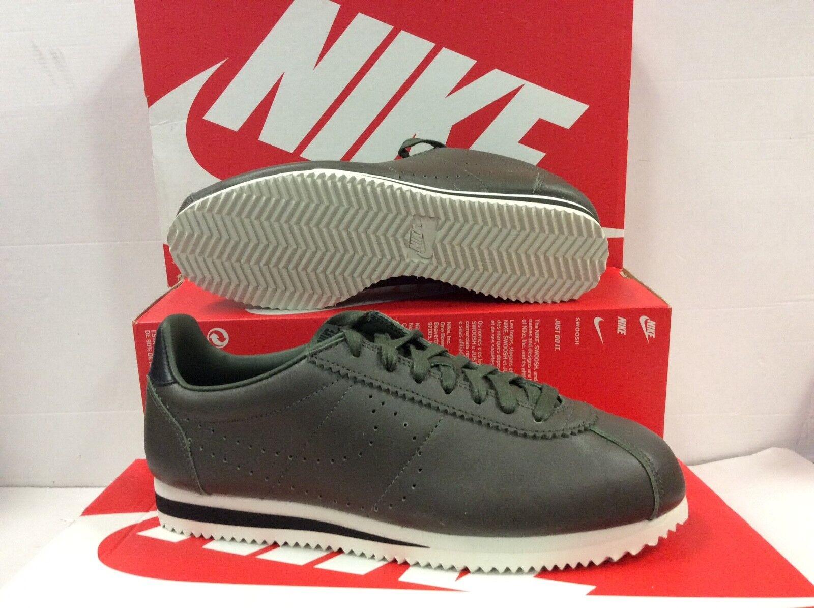meet cf0a9 ff42e Nike Classic Cortez en Cuir Cuir Cuir Premium Homme Baskets, Taille / 8e06d9