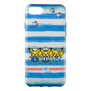 e88d11cf3 Pikachu iPhone 6 6s 7 8 Case Cover Soft type Yokohama R Pokemon ...