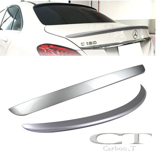 COMBO Painted For Mercedes BENZ W205 OE Rear Roof Spoiler /& AMG Trunk Wing C63