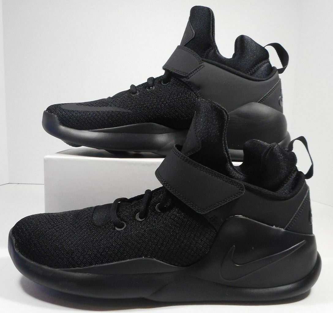 727448b406daf8 Nike Kwazi Mens 844839-001 Blackout Mesh Basketball shoes Sneakers