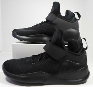 Nike Kwazi Mens 844839-001 Blackout Mesh Basketball Shoes Sneakers ... 5fea77481