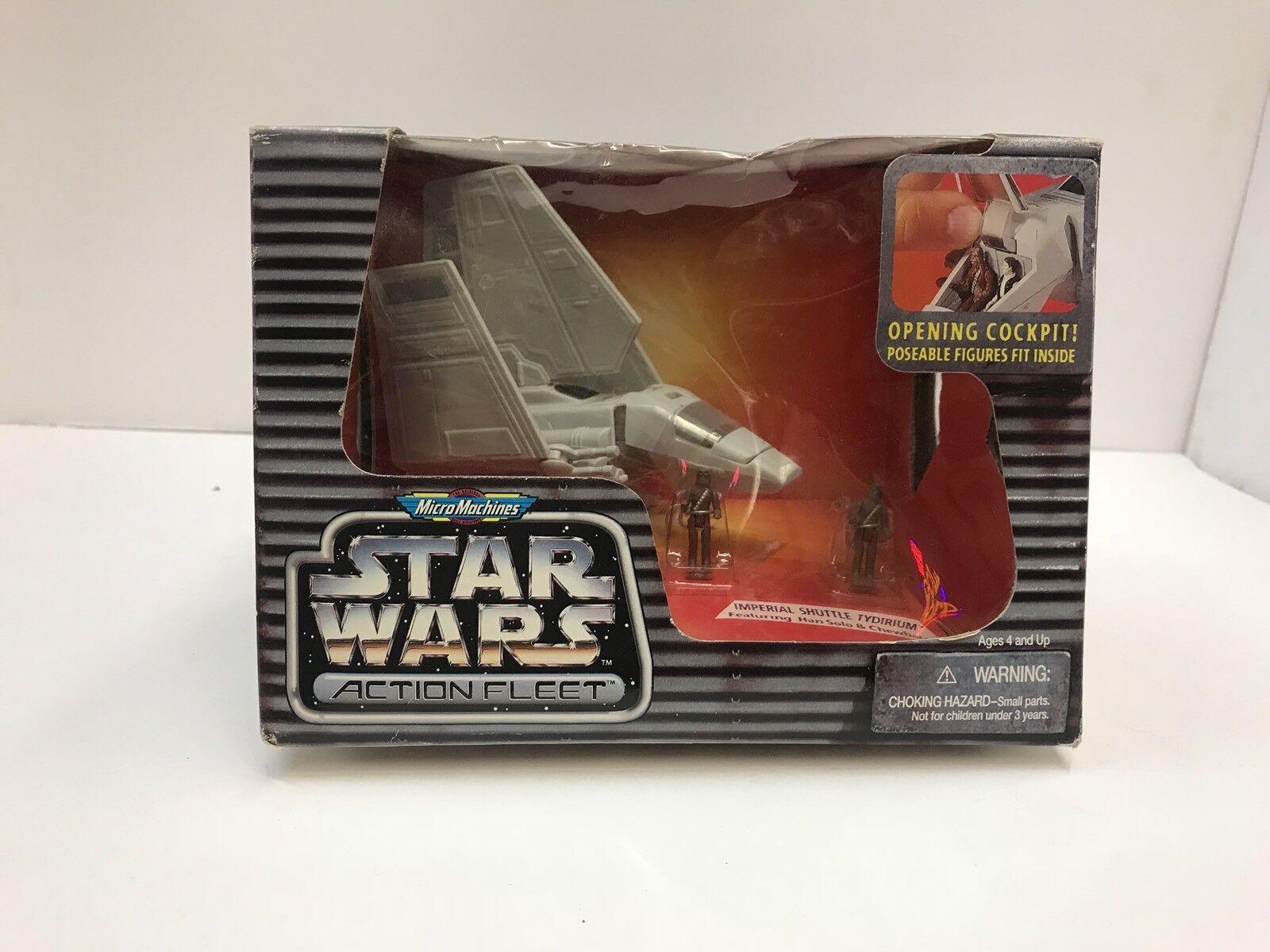 Galoob Star Wars Imperial Shuttle Tydirium Fleet Error No Han Solo 2 Chewbacca