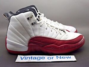 buying now quite nice order online Details about Nike Air Jordan XII 12 Cherry Retro GS 2009 sz 6Y