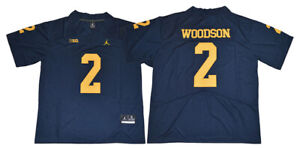 Details about Charles Woodson Jersey 2 Michigan Wolverines Sewn College Football Jersey