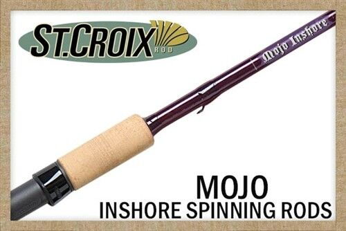 St. Croix  Mojo Inshore Spinning Rod, All Models  be in great demand
