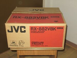 JVC-RX-882VBK-Stereo-Receiver-Amplifier-AMP-tuner-120-Watts-side-New-old-Stock