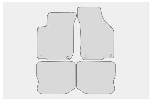 1999-2005 Ganzjahres Fußmatten für Seat Leon 1M Toledo 1M FR Cupra Bj