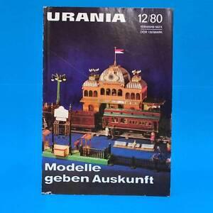 Urania-12-1980-DDR-Thomanerchor-Kuba-FDJ-Bad-Muskau-Tamayo-Mendez-Schach-Magot