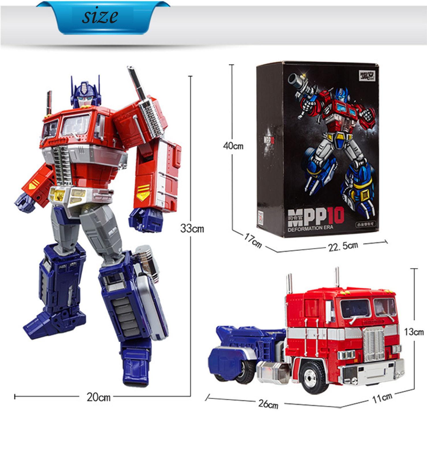 New MPP10 WEIJIANG Transformers Optimus Prime Deformation Era Gift Toy