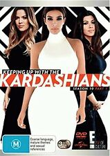 KEEPING UP WITH THE KARDASHIANS - SEASON 10 Part 1  - DVD - UK Compatible