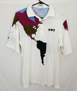 VTG-Titleist-Corbin-Mens-Large-1992-Democratic-National-Convention-T-Shirt-Polo