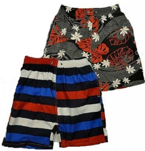 Boys Pattern Shorts Quick Dry Beachwear Swim Kids Board Swimming Trunks 8-13yrs
