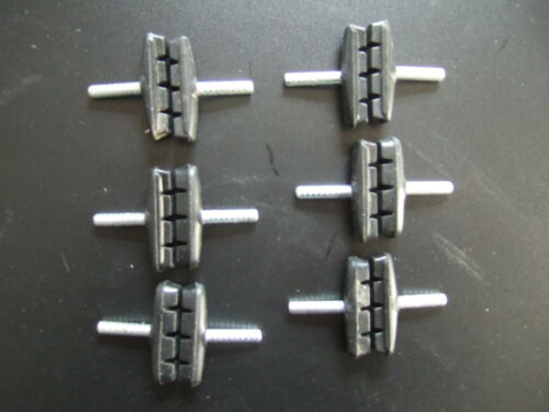 12 New Brake Shoes for cantileverbremsen, Marke Point, ONLY for Alloy Rims