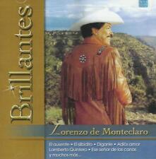 Lorenzo De Monteclaro CD NEW Brillantes Versiones Originales Con 20 Canciones